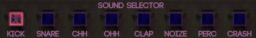 Slot selection menu